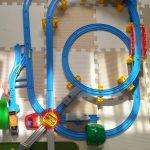 5歳児が作るプラレール転車台レイアウト