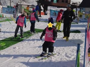 ナスパニューオータニのスキースクール