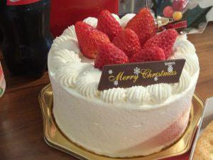 千疋屋のクリスマスケーキ