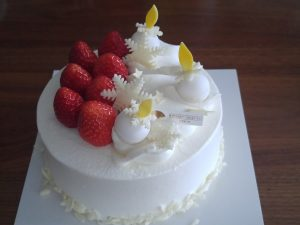マンダリンオリエンタルのクリスマスケーキ
